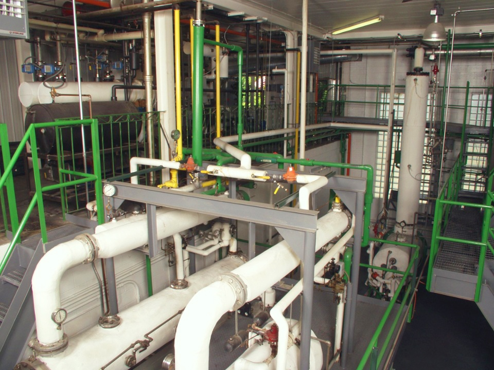 Our Bremen facility houses our distillation units.