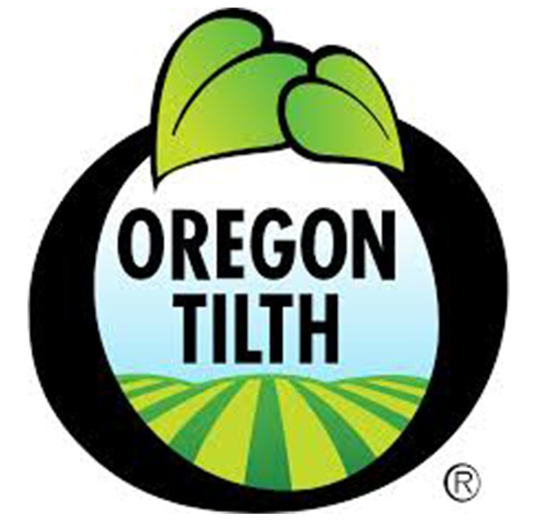 Certified organic by Oregon Tilth