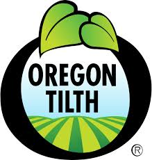 USDA Certified Organic by Oregon Tilth