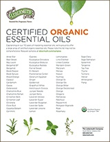 Organic Essential Oils 160x207