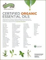 Organic Essential Oils 160x207