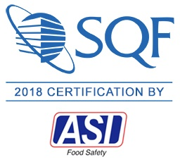 Safe Quality Food for Manufacturing Certified by ASI