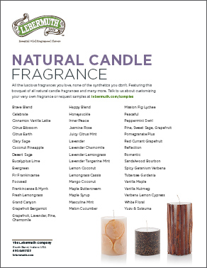 Candle-Fragrance List