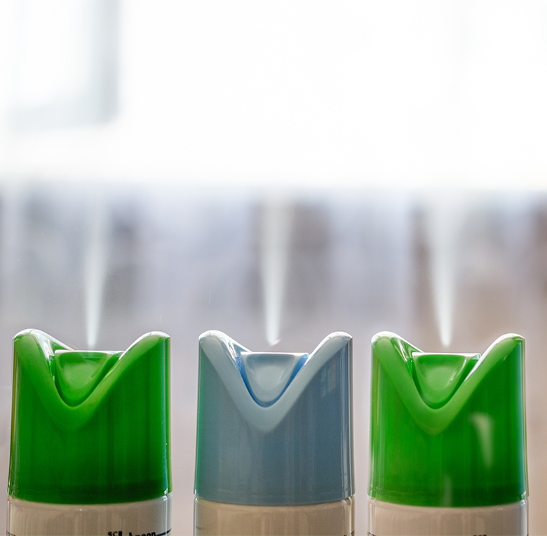 Scents for spray air fresheners