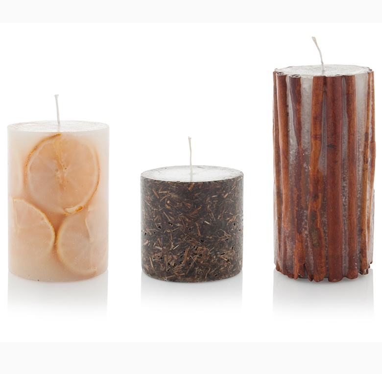Natural fragrances for candles