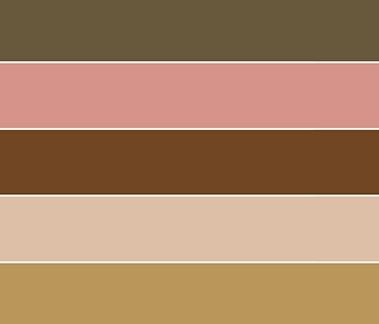 Country Garden color palette