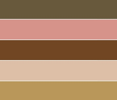Country Garden color palette