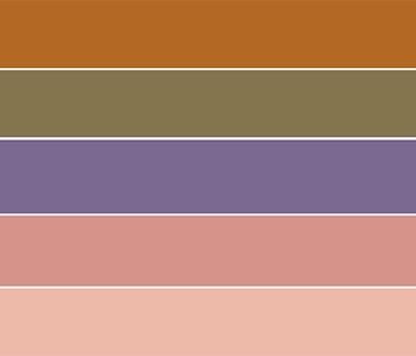 Desert Dreams color palette