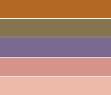 Desert Dreams color palette