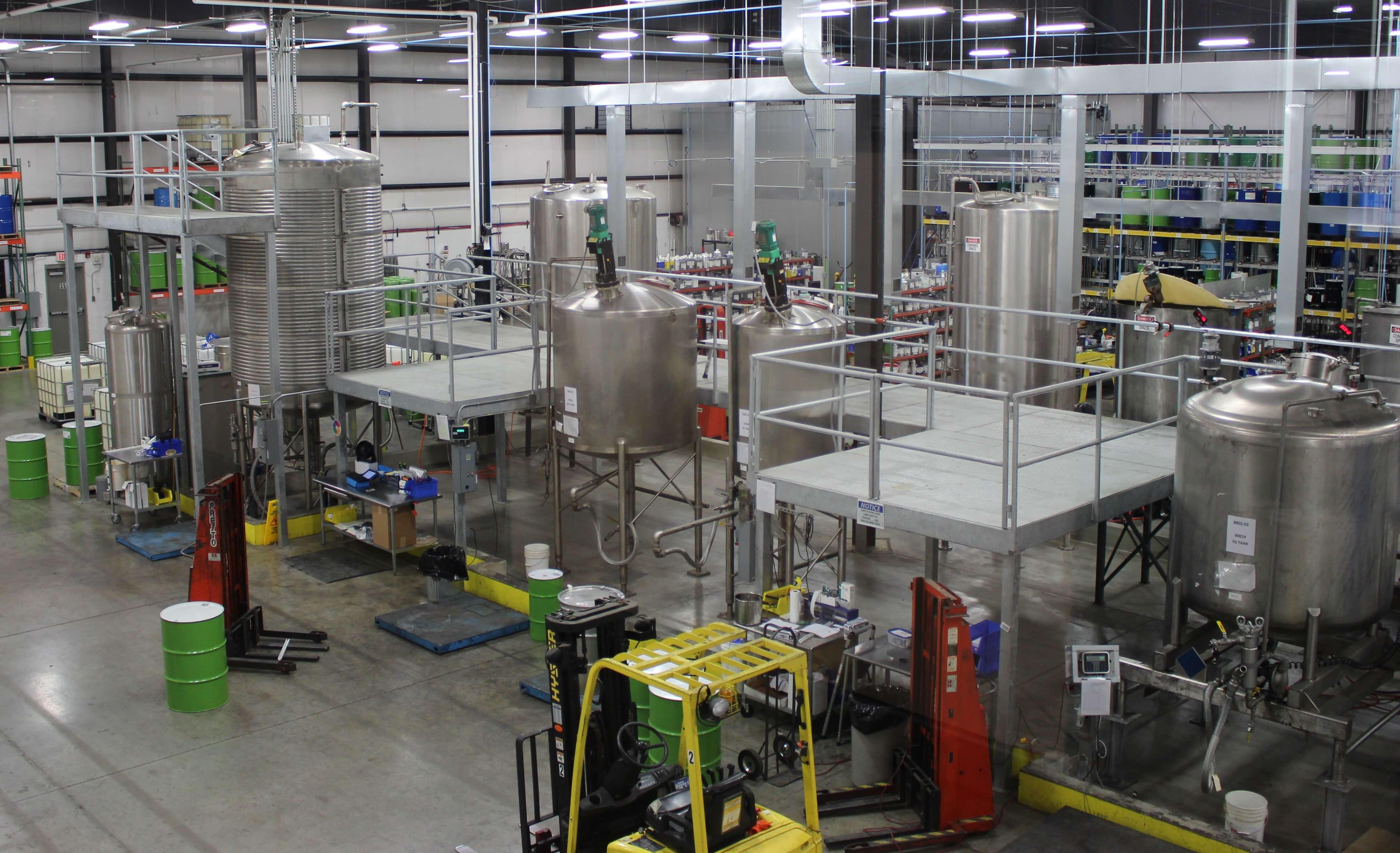 manufacturing essential oils
