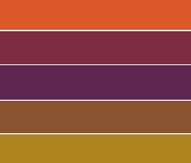 Urban Roots color palette