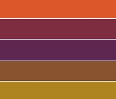 Urban Roots color palette